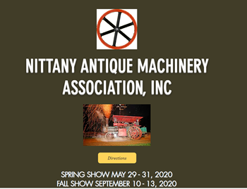 Nittany Antique Machinery Association Show
